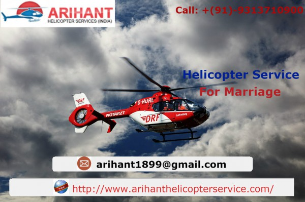 Helicopters Online Booking For Wedding in Madhya Pradesh