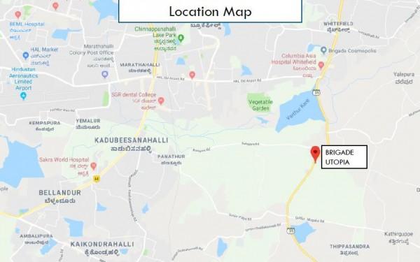 Brigade Utopia Location Map