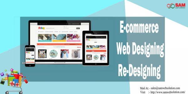 Design and Redesign Your E-commerce Website Service Provider