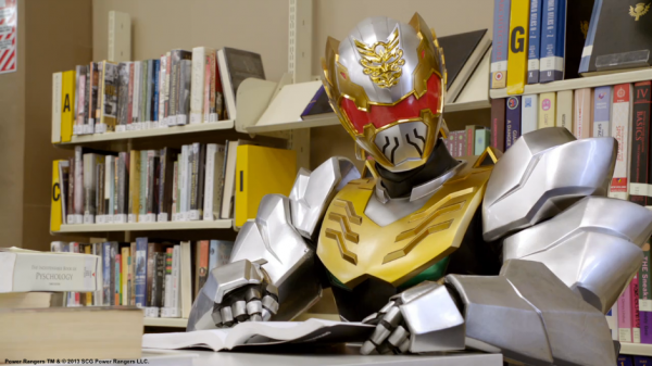 "Rangers be like ""I got a new zord!"" and ""I got ultra mode!""... and I'm just sitting here like ""I am reading human literature based on anatomy."""