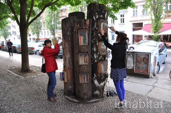Berlin book tree