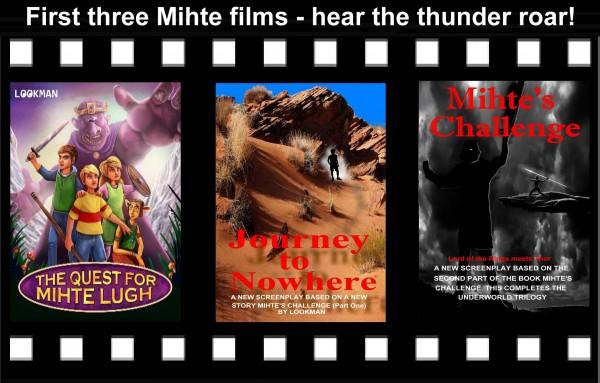 Three award winning film scripts from two books
