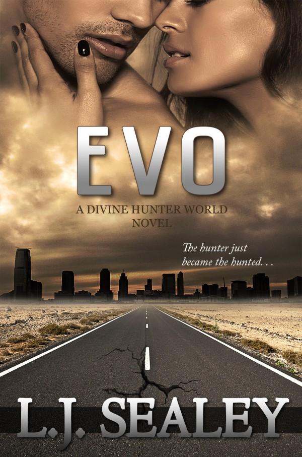 COVER REVEAL: Evo - A Divine Hunter Novel