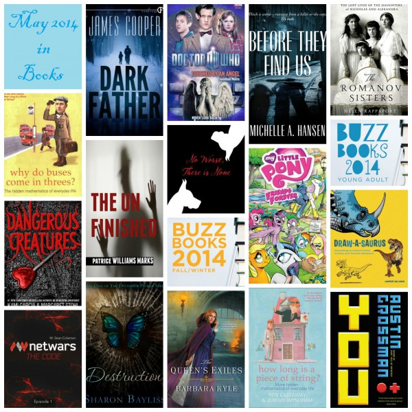 May 2014 In Books