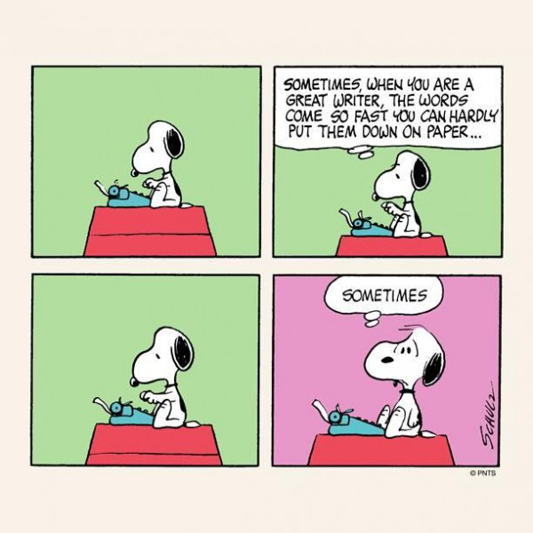 Snoopy, you nailed it.