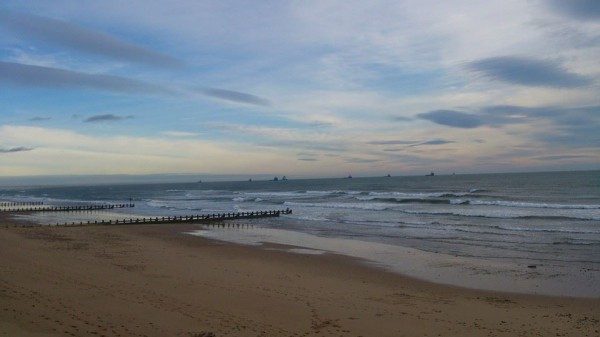Beach run this morning