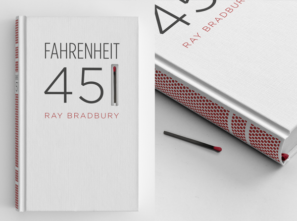 Best cover of Fahrenheit 451 ever!