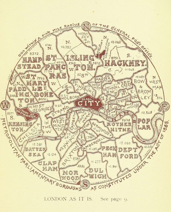 The Boroughs of London