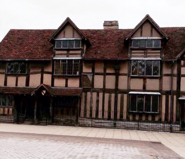 Bill Shakespeare lived here