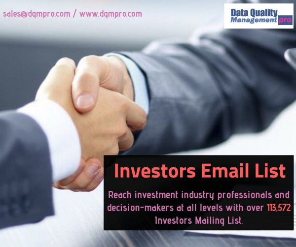 Investors Email List