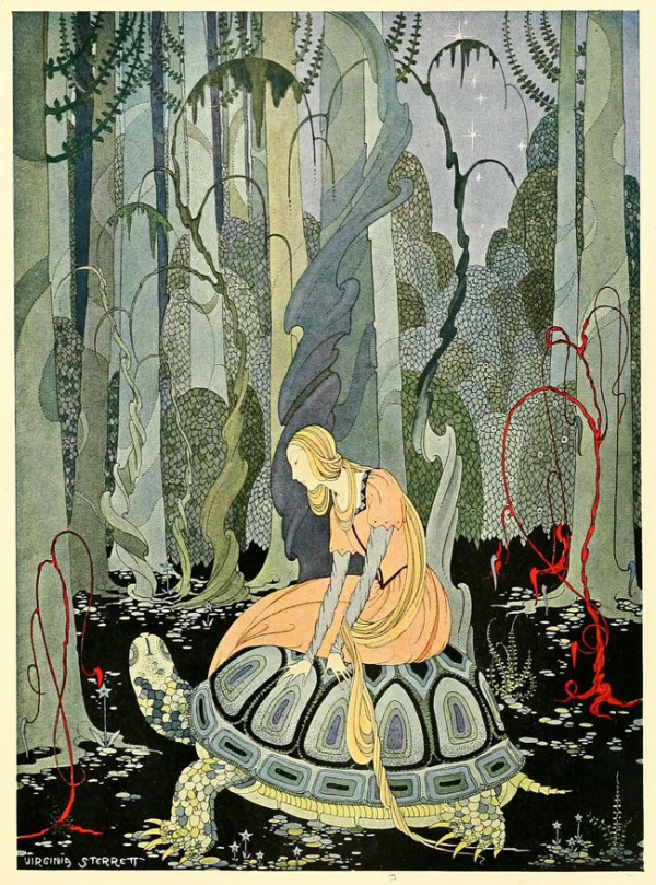 Virginia Frances Sterrett's illustrations for Old French Fairy Tales, 2