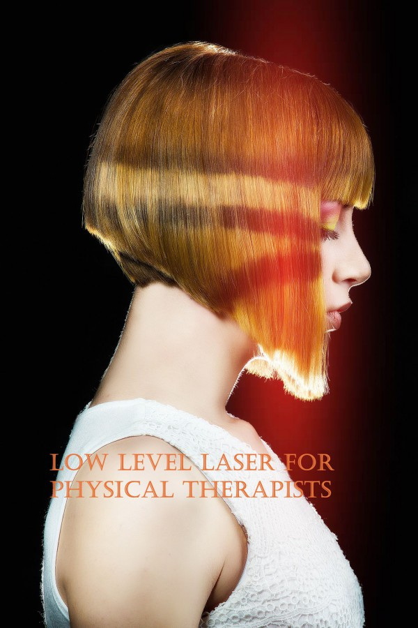 Low level laser for Physical therapists. Book cover.