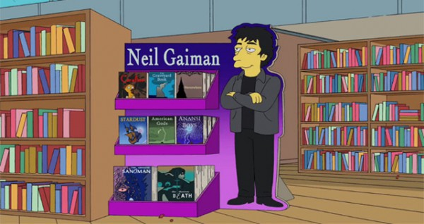 The Simpsons + Neil Gaiman = The Book Job
