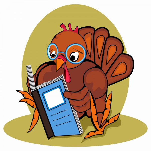 even turkeys love to read ;)