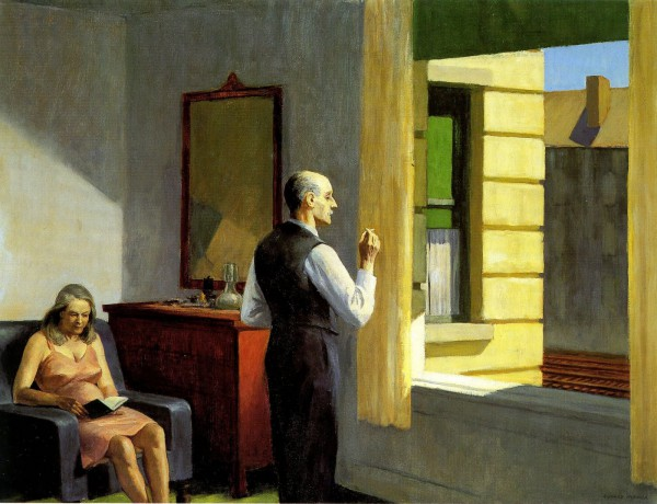 Hotel by the Railroad by Edward Hooper