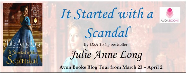 It Started With a Scandal Julie Anne Long Blog Tour
