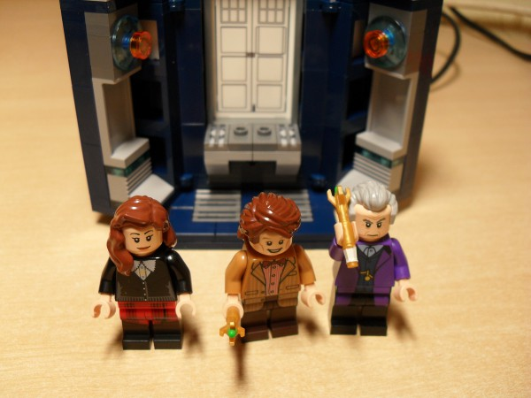 The 11th and 12th Doctors with companion, Clara.
