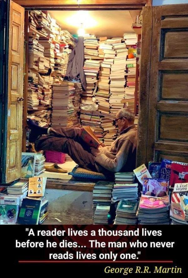 A Reader Lives a Thousands Lives...