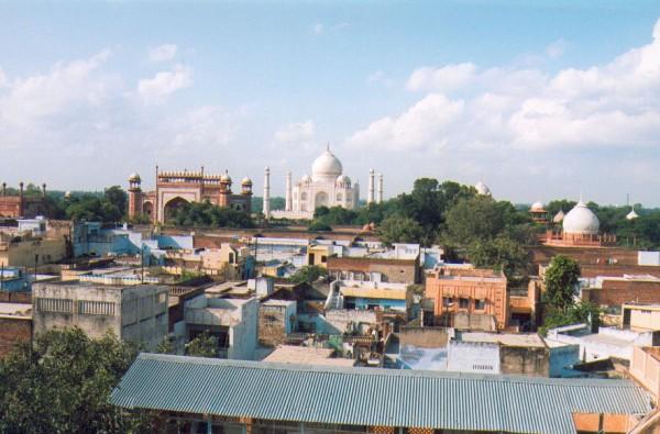 Tadź Mahal (Agra, 2003 r.)