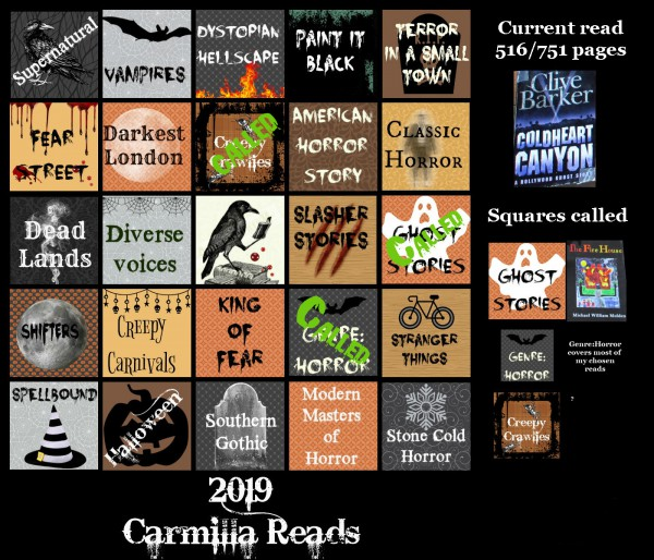 Halloween Bingo Day 3