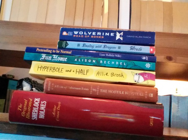 Bout of Books 15.0 - Day Two Progress Report & Rainbow Challenge