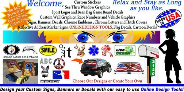 Custom yard signs | 219 signs | Custom street signs