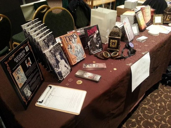 Elizabeth Watasin's Dark Victorian books at FOGcon 2014!