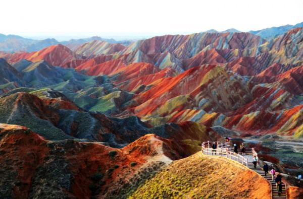 Rock Formations of Zhangye Danxia - China