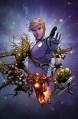 Guardians of the Galaxy, Vol. 1: Cosmic Avengers - Brian Michael Bendis, Steve McNiven, Yves Bigerel, Michael Avon Oeming, Sara Pichelli