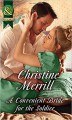 A Convenient Bride For The Soldier (The Society of Wicked Gentlemen) - Christine Merrill