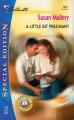 A Little Bit Pregnant (Silhoutte Special Ed. No 1573) (Readers' Ring series) - Susan Mallery