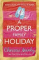 A Proper Family Holiday - Chrissie Manby