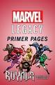 Royals - Marvel Legacy Primer Pages (Royals (2017-)) - Robbie Thompson, Kevin Libranda