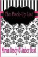 The Back-Up List - Miriam Brady, Amber Best