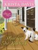 Murder, She Barked (Paws & Claws Mystery) - Jeanie Kanaley, Krista Davis