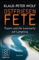 Ostfriesenfete. Rupert und die Loser-Party auf Langeoog.: Kurzkrimi (nur als ebook erhältlich) - Klaus-Peter Wolf