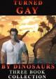 Turned Gay By Dinosaurs: Three Book Collection: (Dinosaur Erotica) - hunter fox