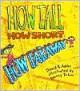 How Tall, How Short, How Far Away - David A. Adler, Nancy Tobin