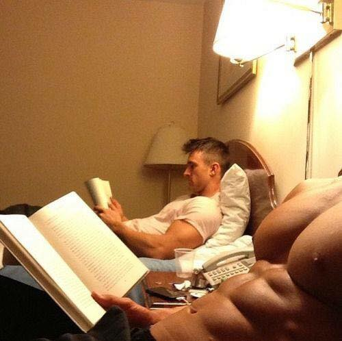 Hot Dudes Reading, #54