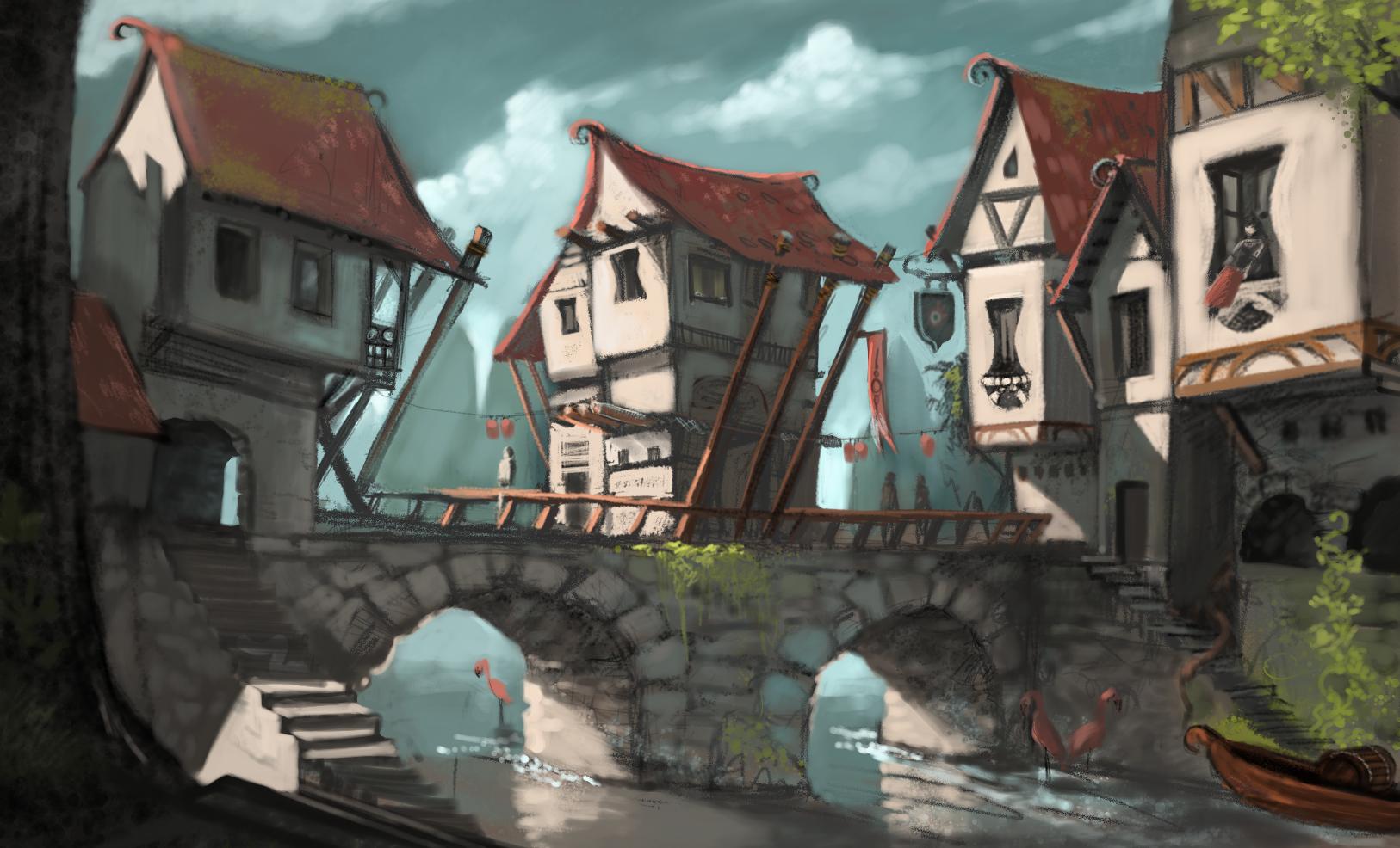 Fantasy slave town pron pic