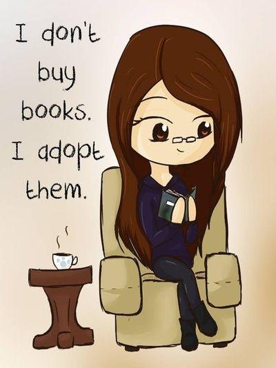 I Adopt Books
