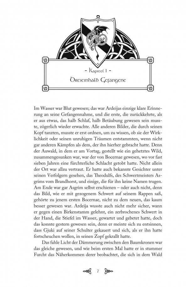 Textauszug: Tricontium von Maike Claußnitzer
