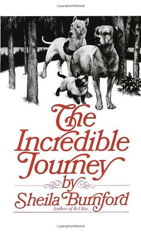 The Incredible Journey is a reread for me