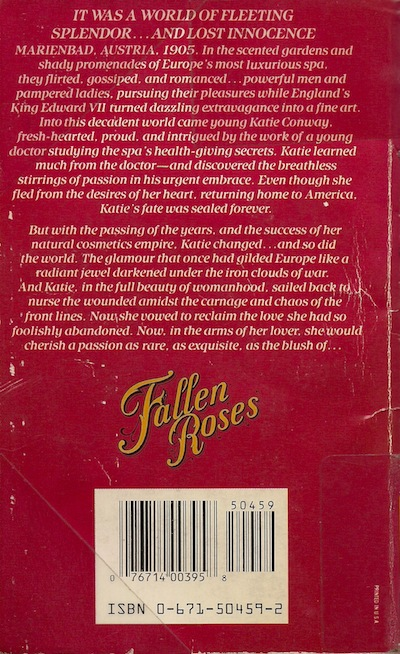 Fallen Roses by Laura Brooke back cover