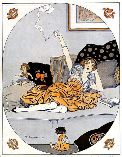 Day off chills, c.1920
