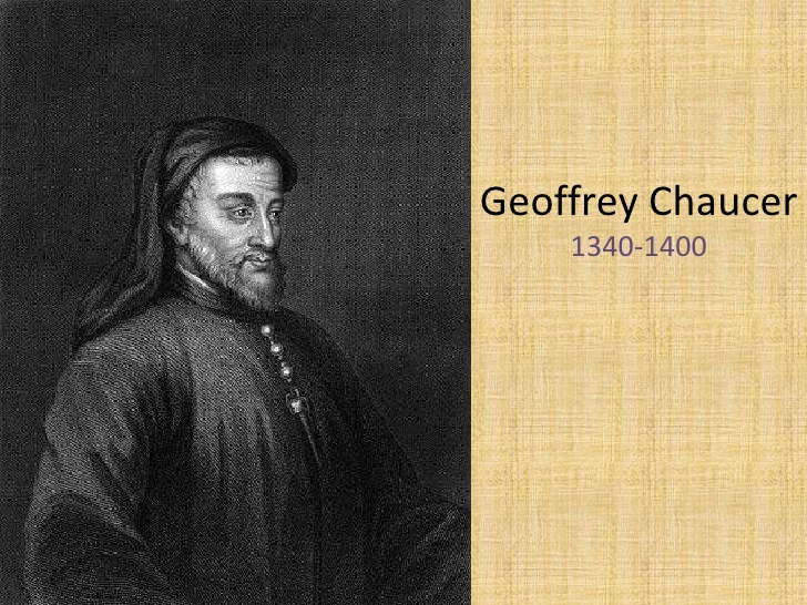 geoffrey chaucer essay The general prologue is structured in a very interesting way: it is set up to provide clear and present contrasts between different members of medieval society, to portray the good and the bad of each particular class.