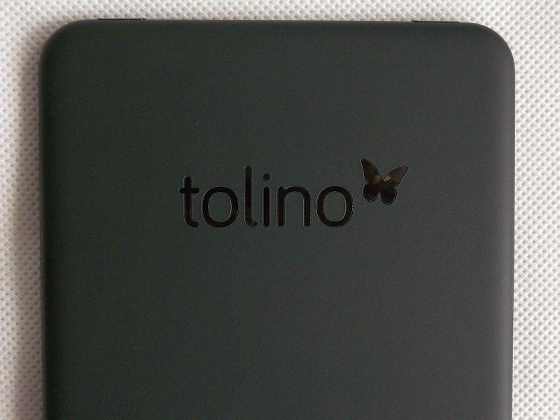 Strefa Tap2Flip w Tolino Vision 2
