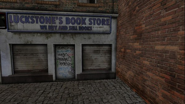 3D book store