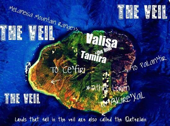Map of Tamira