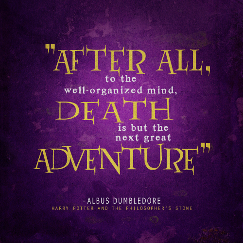 Encouraging Quotes After Death: Harry Potter Birthday Quotes. QuotesGram